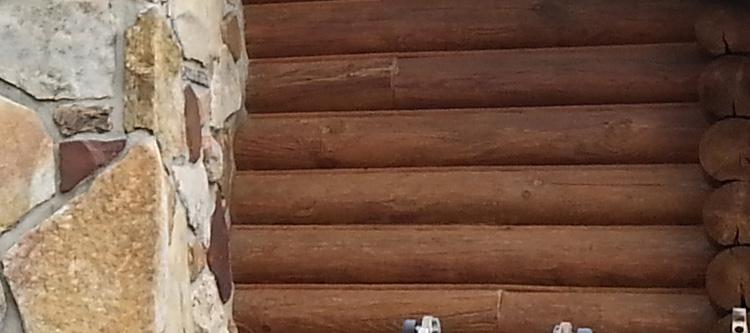 Professional Log Home Caulking Service